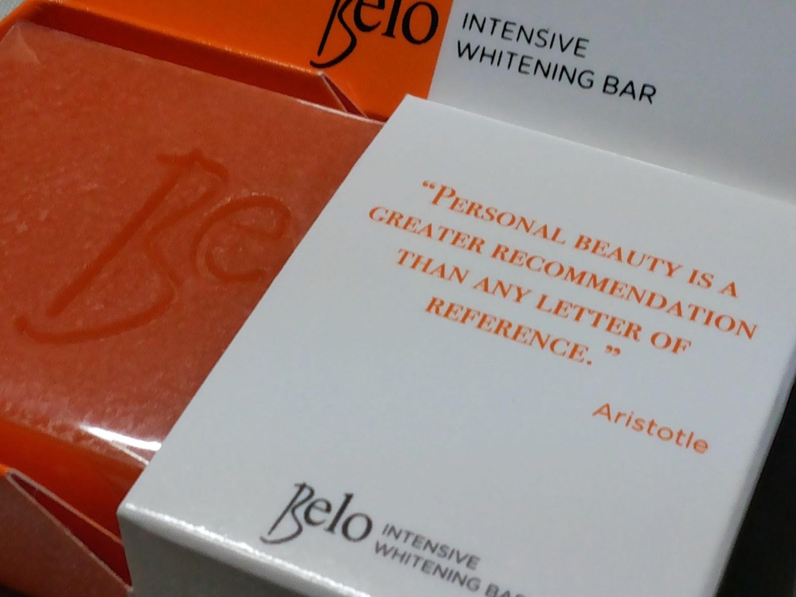Belo Intensive Whitening Bar