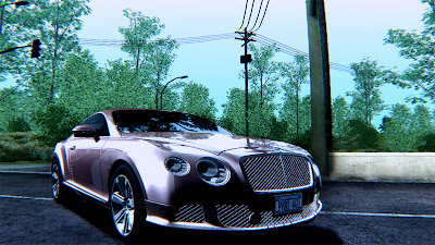 GTA SA - Bentley Continental GT 2011