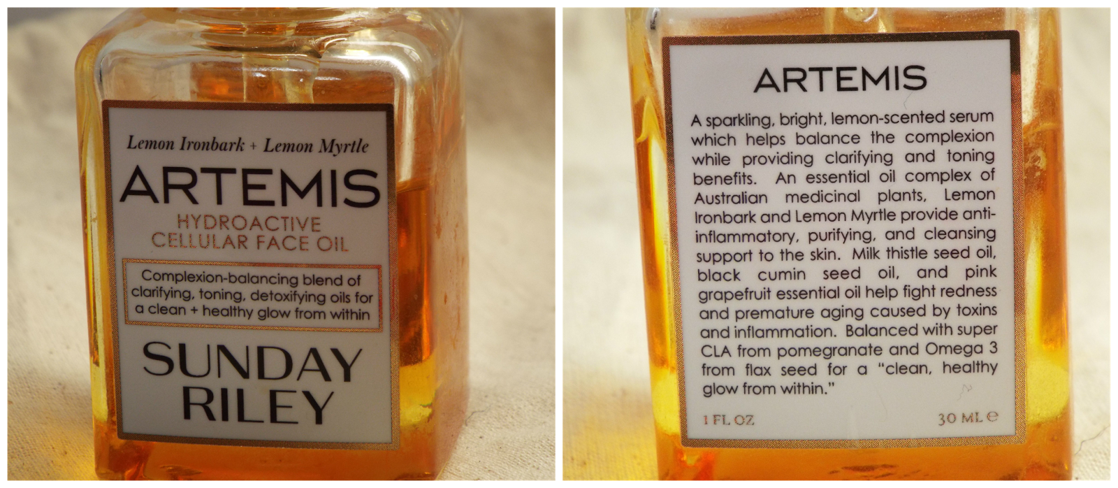 sunday riley artemis oil review
