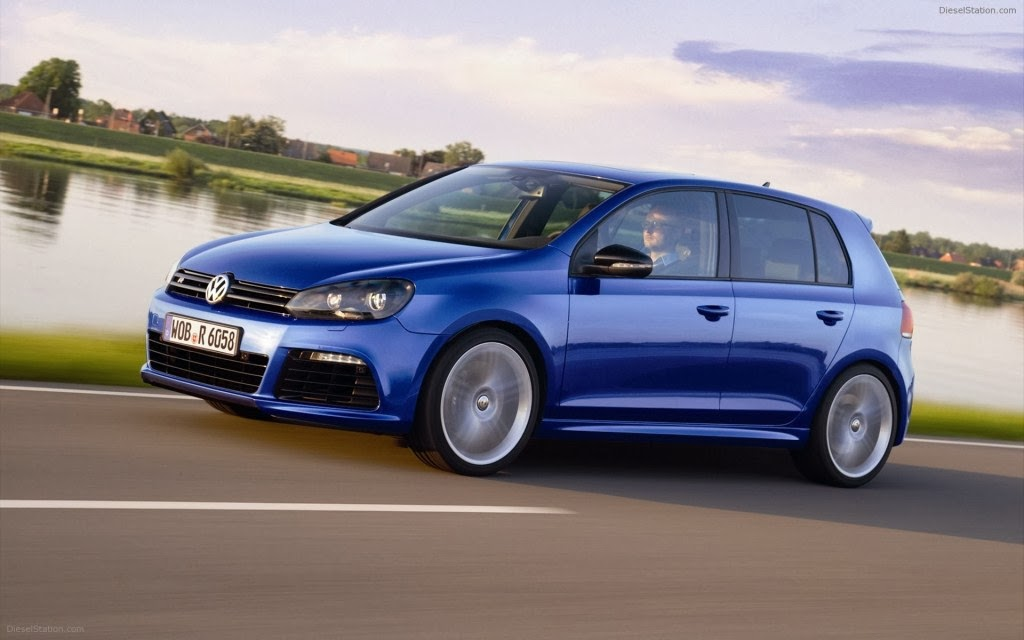 VW Golf R Wallpaper