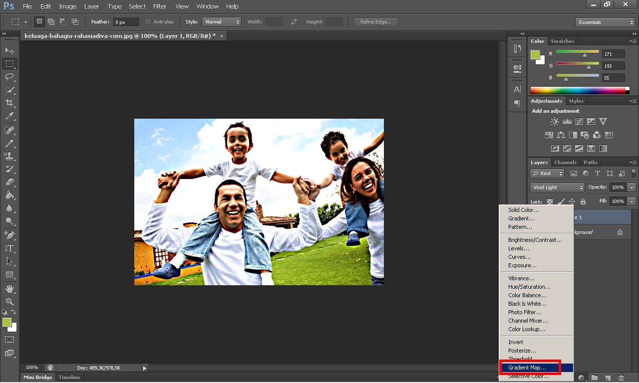 Membuat Efek Keren Dengan Photoshop - MariBerbagi31