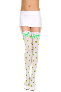 Shamrock Thigh Highs viktorviktoriashop.com