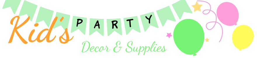 Decor & Supplies 4 Kids Parties