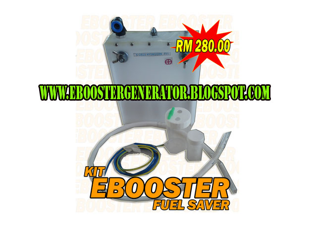 [WTS] FUEL SAVER EBOOSTER HHO GENERATOR Kit+ebooster