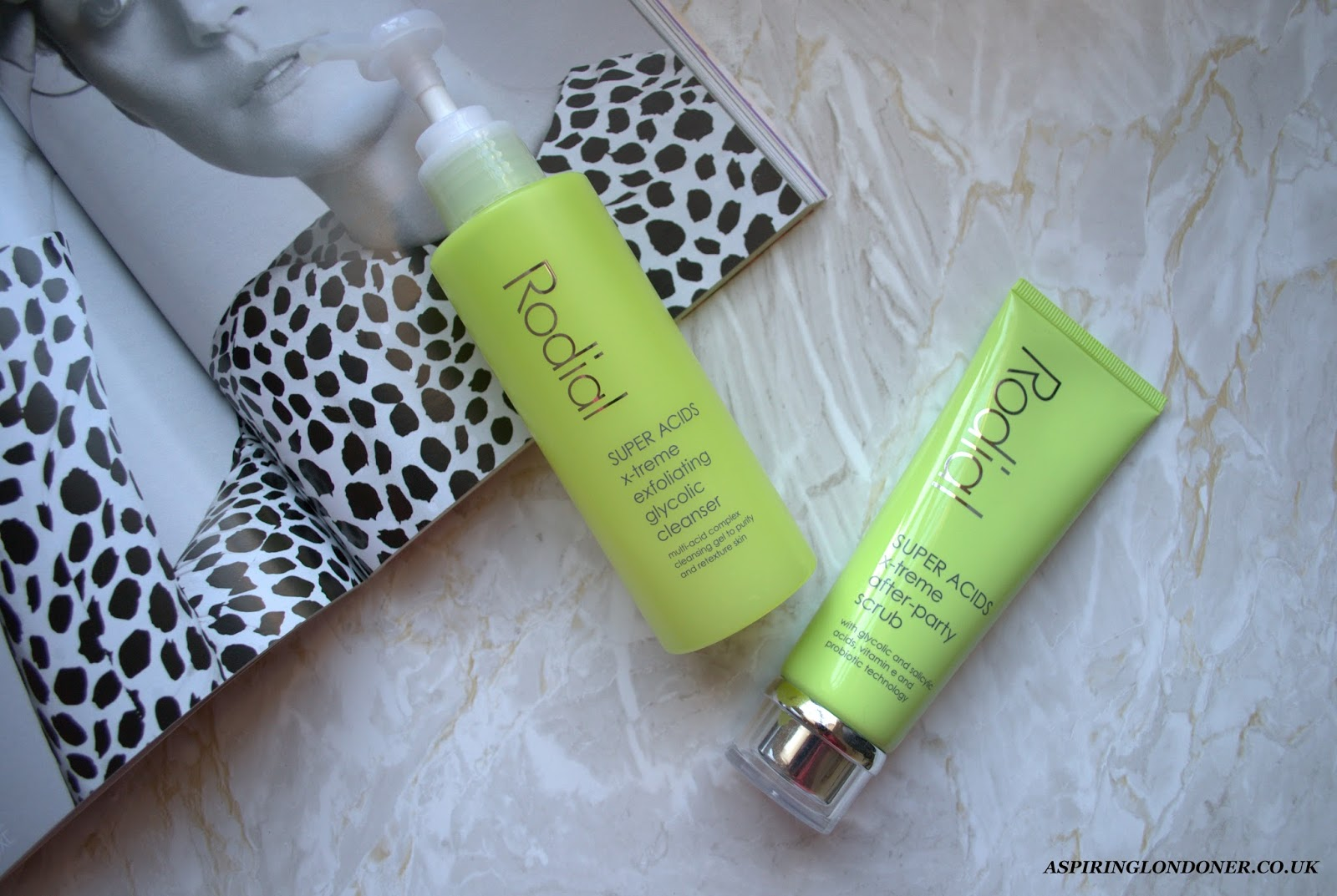 Rodial Super Acids X-treme Cleanser & Scrub Review - Aspiring Londoner