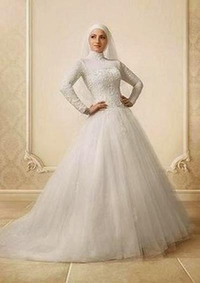 Robe mariée hijab très belle