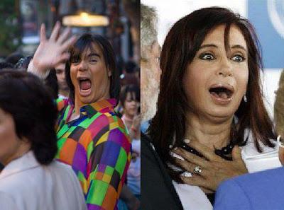 Sos Igual! Cristina Fernandez de Kirchner vs Oggi Junco