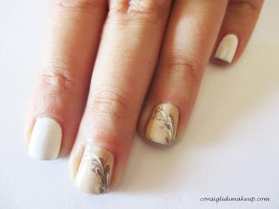 nail art semplice elegante