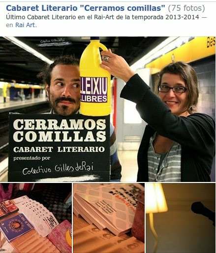 """Cabaret Literario """"Cerramos Comillas"""""""