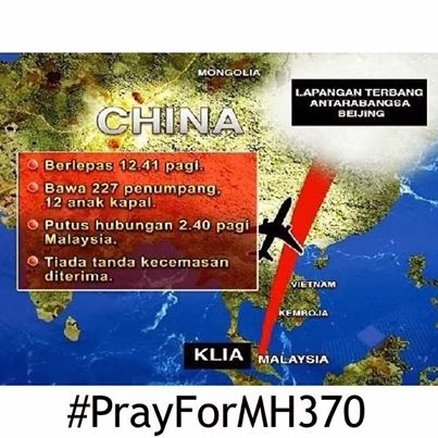 Pray For MAS MH370