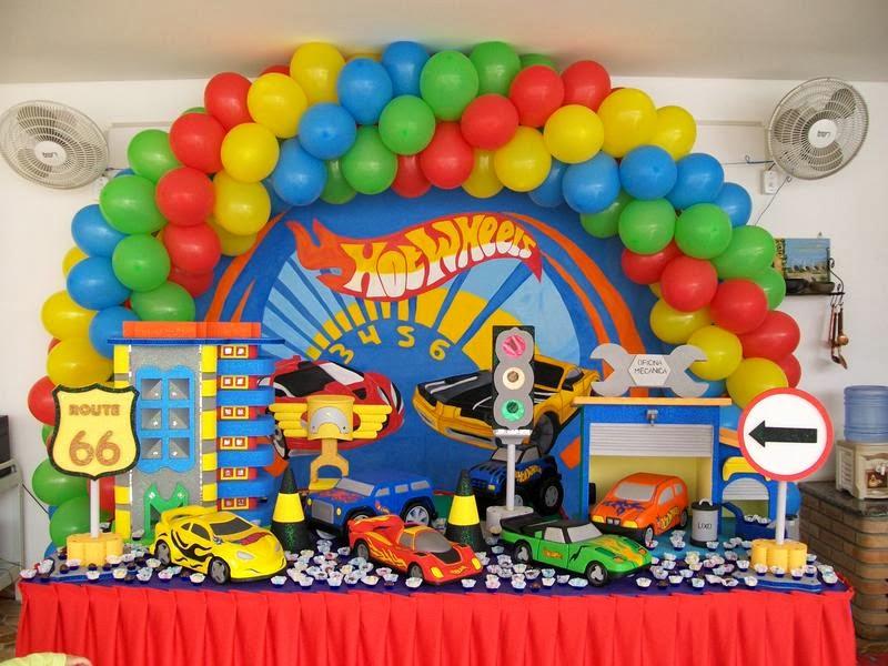 Fiestas Infantiles Hot Wheels, parte 1