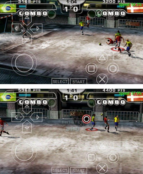 Fifa Street2 PPSSPP Android
