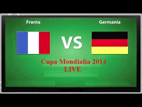 Franța vs. Germania 4 iulie 2014