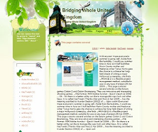 Bridging Whole United Kingdom Blogger Template