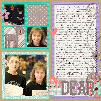 Boyfriend Girlfriend_Scrapbook Page_Tween