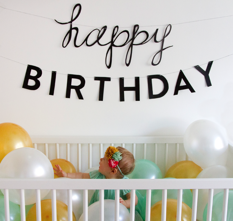 Angela hardison one year old for 1 year birthday decoration ideas