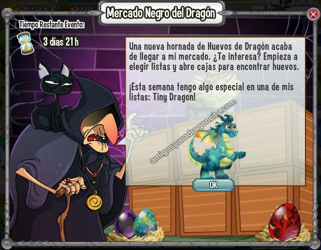 imagen del tiny dragon en el mercado negro del dragon