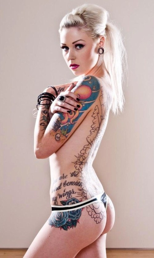 Tattoos for girls on side of body all tattoo