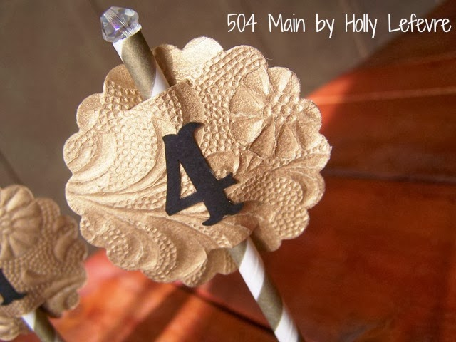 Pretty Paper Rosette Centerpiece Accessory by 504 Main
