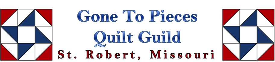 Gone To Pieces Quilt Guild