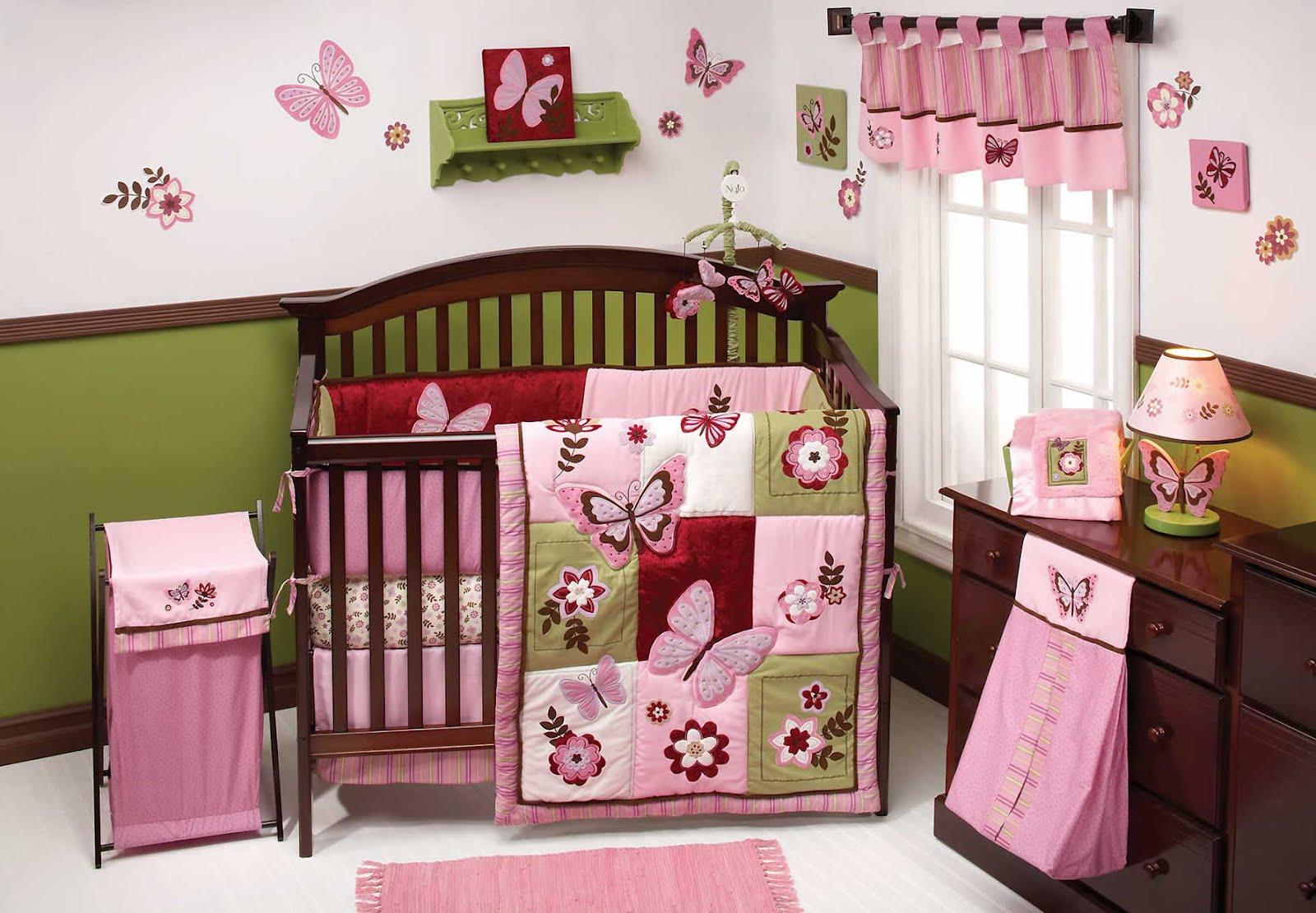 Nojo baby bedding review giveaway two of a kind Baby girl bedding