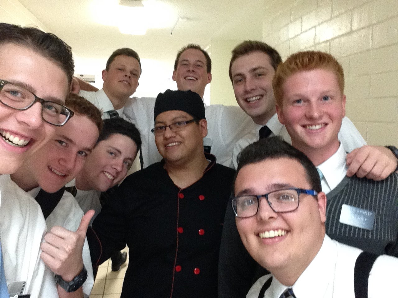 Making friends with the MTC cook