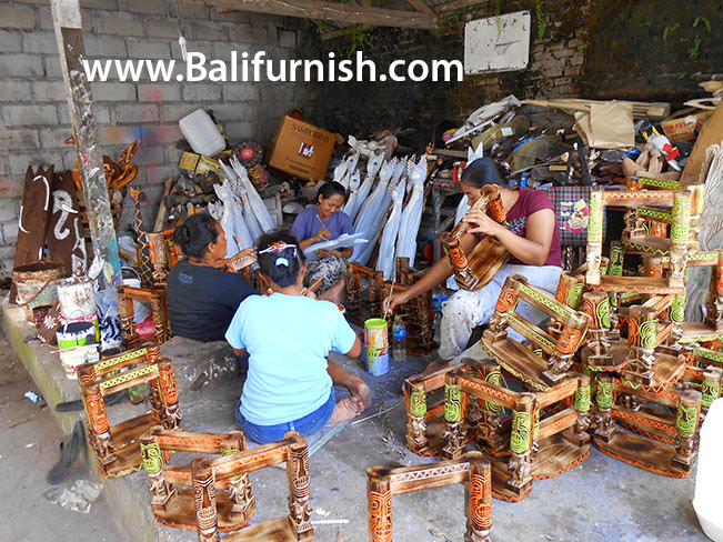 Balinese Craftsmen Bali Crafts Workshop