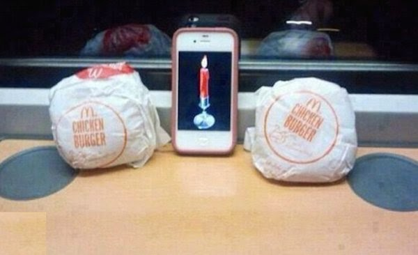 Valentine Burger - Funny Picture