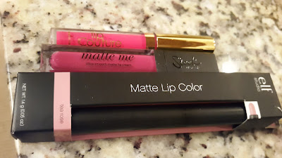 Decluttered lip products www.modenmakeup.com