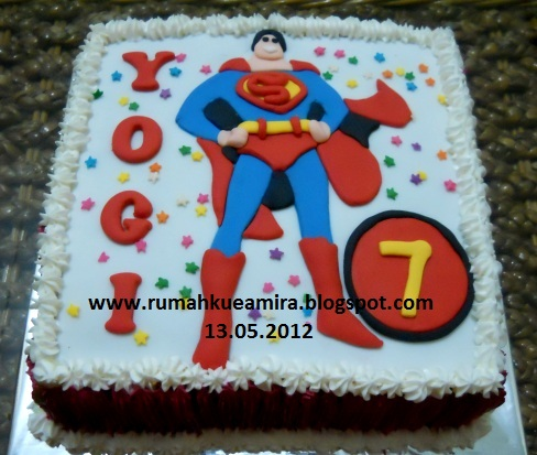 Superman for Yogi's 7th B'Day