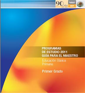 PROGRAMA PRIMER GRADO 2011