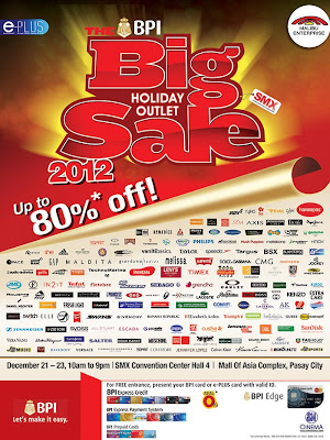 BPI Big Holiday Outlet Sale