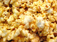 Caramel Popcorn! Easy &amp; Yummy!