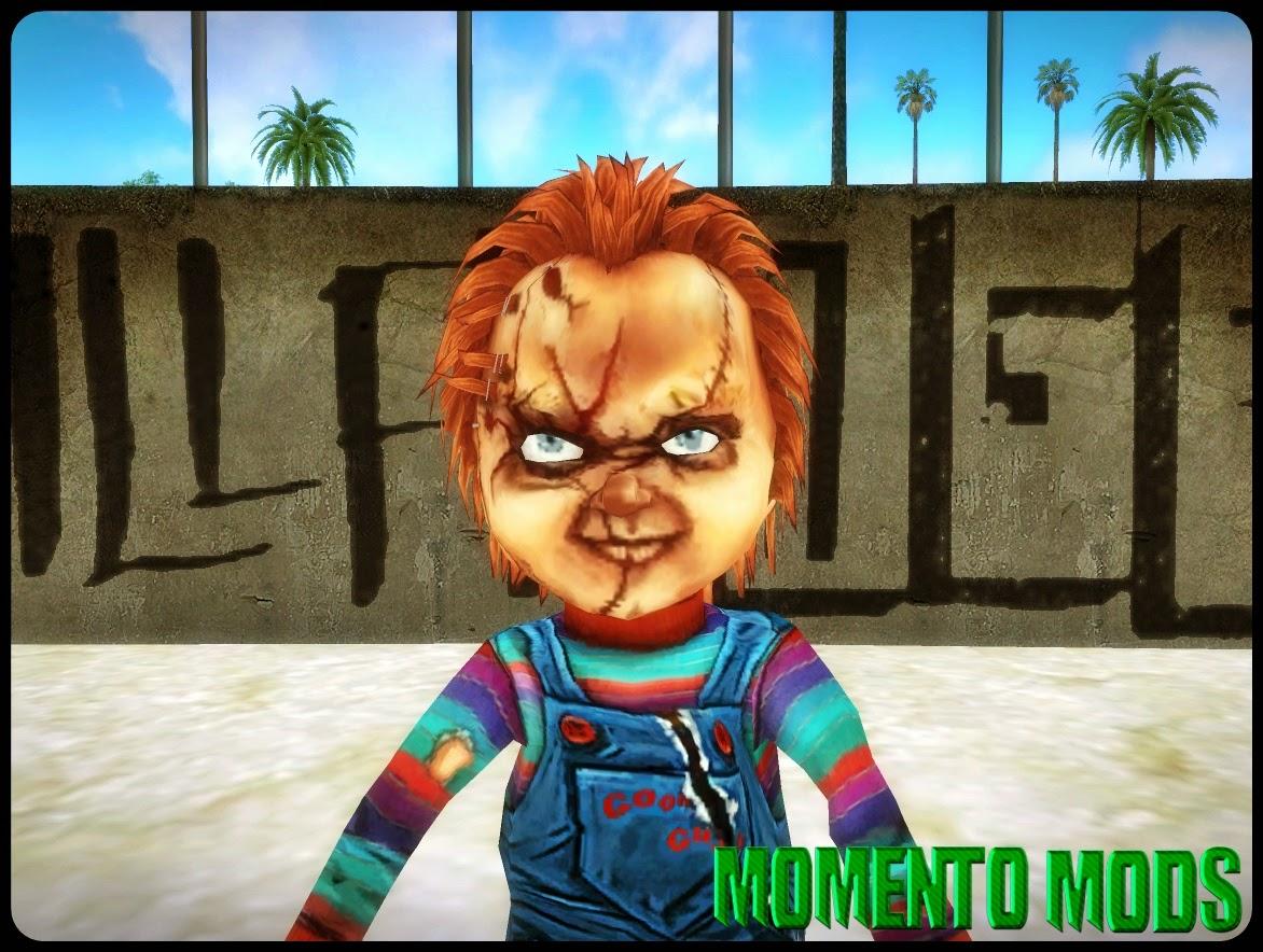 GTA SA - Skin Do Chucky