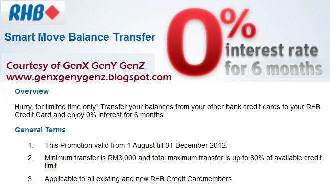 rhb personal loan repayment table