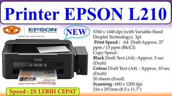 Jual Printer Epson L210