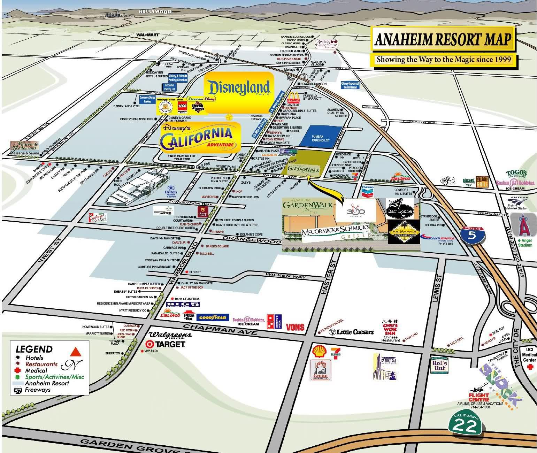 Dwika Sudrajat Disneyland Maps - Disneyland usa location map