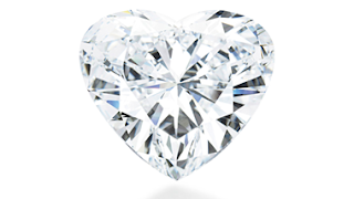 The Unmounted Heart Shaped Diamond