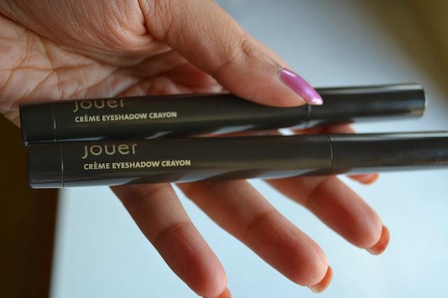 Jouer Creme Eyeshadow Crayons