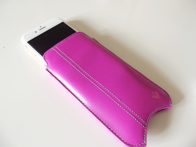 Nuevue Antimicrobial Leather Phone Case