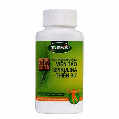 Thực phẩm chức năng Viên tảo Spirulina Tiens - Thiên Sư