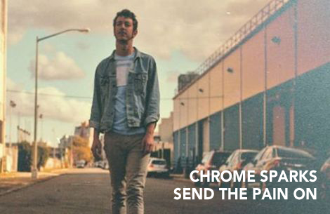 Chrome sparks band, send the pain on
