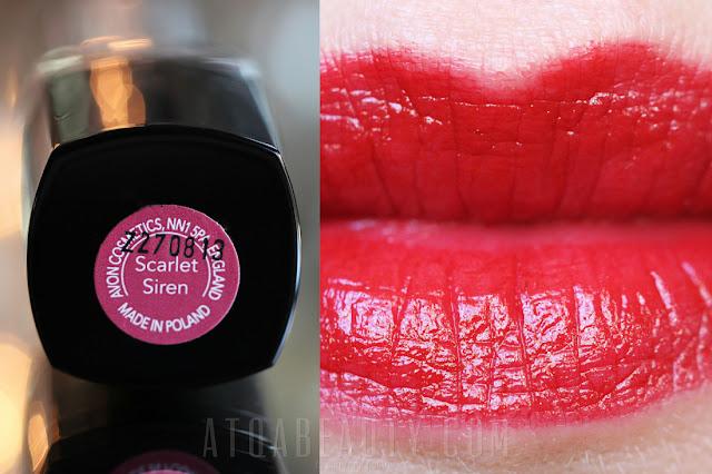 Avon • Ultra Colour Lipstick • Scarlet Siren