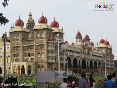 Mysore Palace view from entrance gate