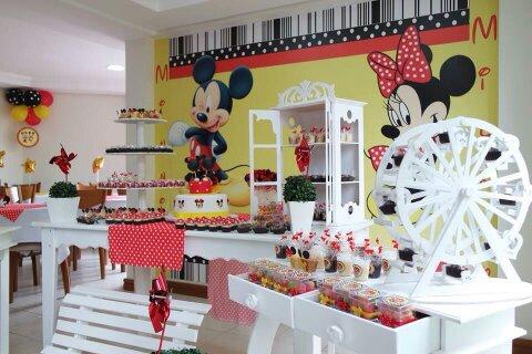 Aniversário Infantil - Mickey
