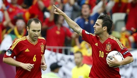 Spanyol vs Cili