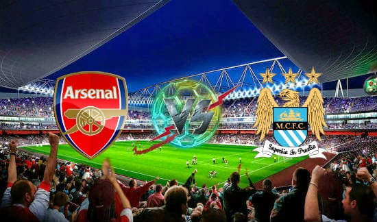 LIVE STREAMING PIALA PERISAI KOMUNITI 2014 ARSENAL VS MAN CITY