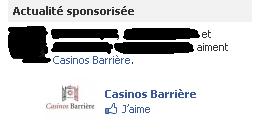 pub poker sur facebook
