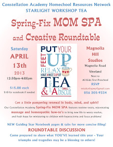 Starlight Workshop Tea on APRIL 13!
