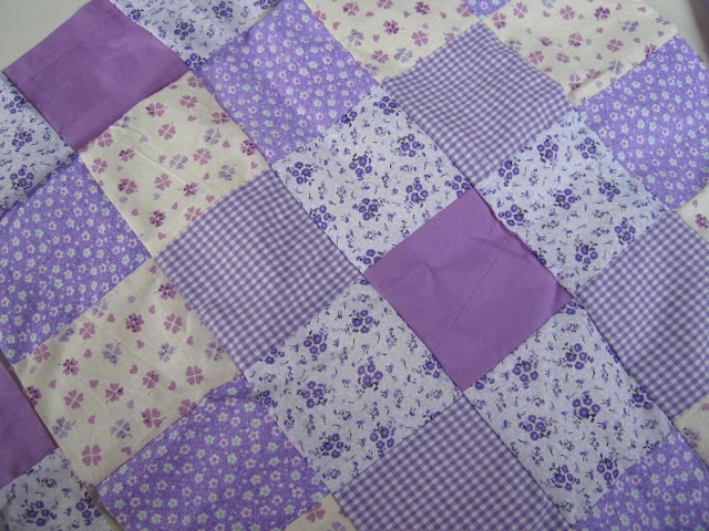 liliowy patchwork